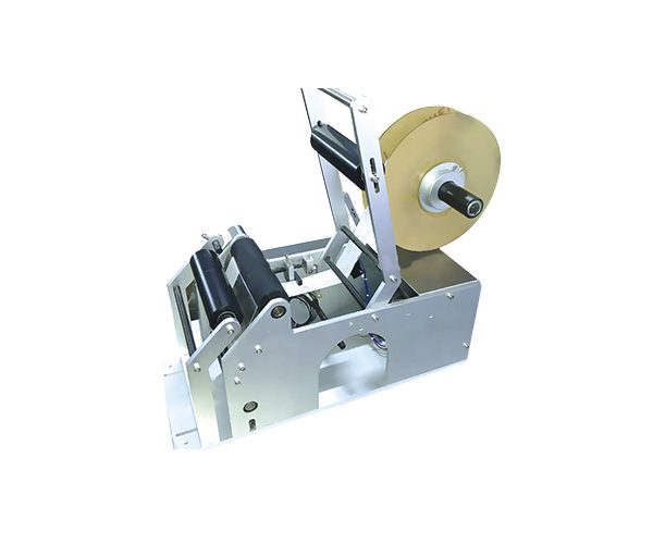 etiquetadora manual para autoadhesivas envases cilindricos